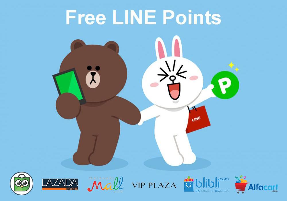 Sekarang Kamu Bisa Dapetin LINE Points Gratis dari Belanjaan Kamu